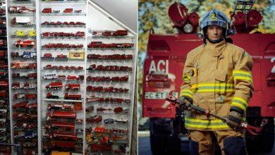 Photo of foto | Pasionat de munca sa până în măduva oaselor. Pompierul Dumitru Polșcin se mândrește cu o colecție de peste 200 de mini-autospeciale