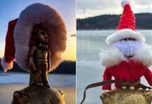Photo of foto | Cel mai scund Moș Crăciun din țară. Micul Prinț de la Valea Morilor a pregătit o surpriză pentru chișinăuienii cuminți