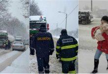 Photo of foto, video | Au salvat zeci de șoferi din nămeți. Angajații IGSU – eroii drumeților pe traseele din întreaga țară