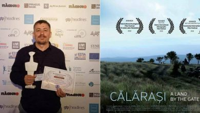 Photo of #EroulSăptămânii. A promovat ţara printr-un film despre Călărași. Cine este moldoveanul care ne-a făcut mândri la un festival din Grecia?