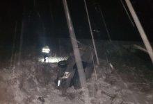 Photo of foto | Condiţiile meteo fac victime şi la Străşeni. Trei oameni au ajuns la spital după ce un microbuz a derapat