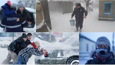 Photo of Eroii Săptămânii. Ei nu au dus cont de frig și troiene. Eroi sunteți voi – cei care ați salvat vieți din mormane de omăt!