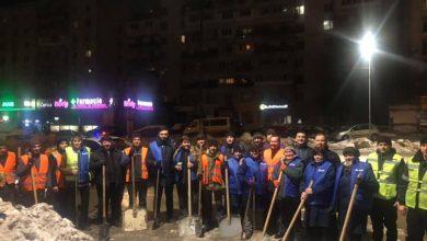 """Photo of foto   Înarmați cu lopeți și mănuși, angajații RTEC au organizat un """"flashmob"""" inedit. Codreanu: """"Am acceptat cu mare drag să mă alătur"""""""