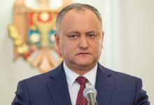 Photo of video | ULTIMA ORĂ. Dodon a decis să nu participe la parlamentarele din februarie. Motivul deciziei