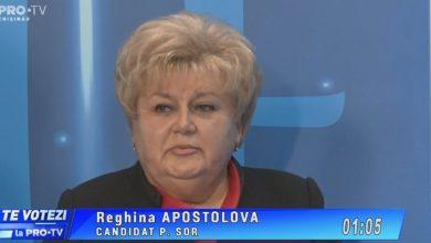 """Photo of video   Îndemnul Reghinei Apostolova pentru alegători: """"Votați cu inima, ca a doua zi să nu regretați"""""""