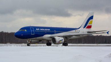 Photo of Air Moldova, singura companie fără rețineri de zboruri. Până la această oră, toate cursele au fost efectuate