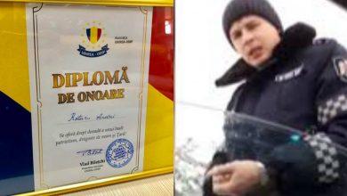 Photo of foto | Aprecierile continuă. Gestul polițistului care a vorbit în limba română, salutat cu o diplomă