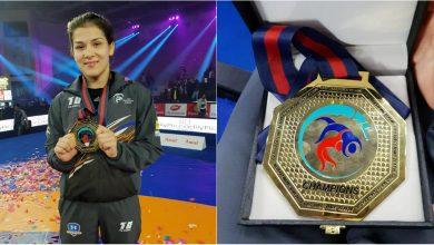 Photo of foto | Ea este mândria întregii țări! Moldoveanca Anastasia Nichita, învingătoarea Campionatului de lupte din India