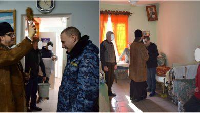Photo of foto | Botezul Domnului, serbat după gratii. Preotul Maxim Melinti a mers cu agheasmă și cruciulițe la două Penitenciare