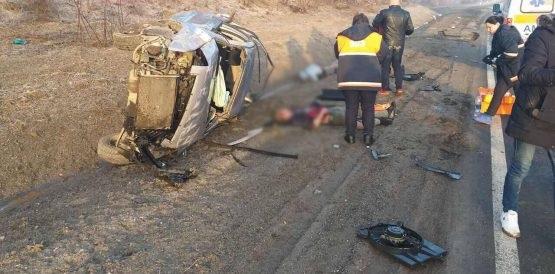 Photo of foto   Un automobil s-a răsturnat lângă Mărăndeni. Patru persoane, transportate la spital cu diverse traumatisme