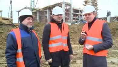 Photo of video | Candu și Gaburici, pe șantierul Arenei Chișinău. La ce etapă se află construcția de 40 de milioane de euro?