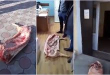 """Photo of Agenții economici care au protestat cu carne crudă la Cahul rămân în continuare fără certificate veterinare. ANSA: """"Carnea n-a fost supusă procesului tehnologic deplin"""""""