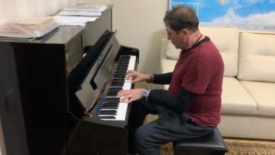 Photo of video | Grigory Leps, acasă la Igor Dodon. Artistul rus și-a etalat abilitățile muzicale la pianul președintelui țării