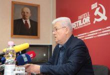 Photo of video   Comuniștii s-au lansat în campanie. Voronin: Pe lista PCRM se regăsesc oameni care n-au trădat partidul