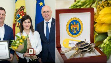 Photo of video   După muncă și răsplată. Sportiva Anastasia Nichita a primit un apartament din partea Guvernului pentru reușite excepționale