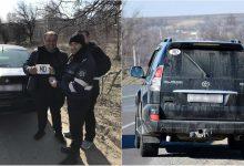 """Photo of foto   Mai multe mașini, """"împodobite"""" de polițiști cu abțibilduri """"MD"""". Motivul pentru care șoferii au primit inscripțiile gratuit"""