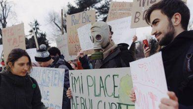 """Photo of foto, video   """"Nu avem PLANeta B"""". OccupyGuguță s-au alăturat miilor de elevi din întreaga lume, cerând măsuri pentru protecția naturii"""