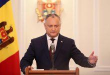 Photo of video | Dodon îi invită la dialog pe PSRM, PDM și ACUM.Președintele vrea formarea unei majorități parlamentare