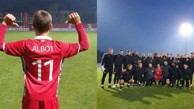 Photo of foto | Ieri tenisman, azi fotbalist. Radu Albot s-a antrenat din greu, alături de jucătorii de la FC Petrocub