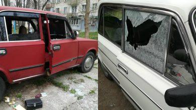 Photo of foto | Geamuri sparte și uși stricate. Mai mulți șoferi din sectorul Rîșcani s-au trezit cu mașinile vandalizate
