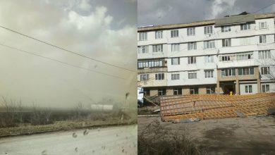 Photo of foto, video | S-a abătut furtuna peste Moldova. Zeci de acoperișuri au fost luate de vânt, iar șoferii au circulat ca în cursele cu obstacole