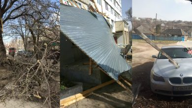 Photo of foto | Moldova, așa cum ai văzut-o în timpul ninsorilor din aprilie 2017: Zeci de mașini distruse, copaci doborâți și acoperișuri luate de vânt