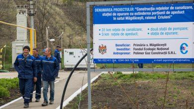 """Photo of Satul Măgdăcești, conectat la apeduct. Filip: """"În acest an vom asigura cu apă potabilă și rețele de canalizare încă 100.000 de gospodării"""""""