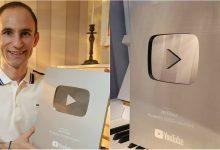 """Photo of video   Ion Paladi a fost premiat cu Butonul de argint de la Youtube: """"Vreausă ajung la un milion de abonați"""""""