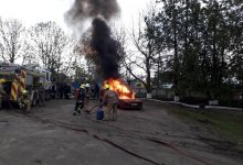 Photo of foto | Aplicații de protecție civilă la Nisporeni. Salvatorii au simulat scenariul unui seism de proporții