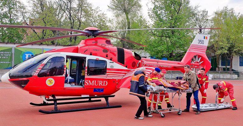 Photo of foto   Un bărbat rănit într-un accident rutier la Nisporeni a fost transportat cu elicopterul în capitală