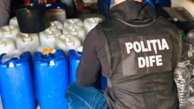 Photo of foto | Captură de milioane la Râșcani. Polițiștii au confiscat 46 de tone de alcool etilic de contrabandă