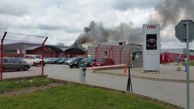 Photo of video | Incendiu de proporții la o fabrică de piese auto din România. Peste 400 de angajați, evacuați