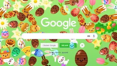 Photo of foto | Ouăle și cozonacii au invadat interfața Google. A fost lansat un nou Doodle, dedicat Paștelui