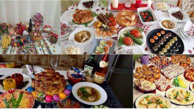 Photo of foto | Ouă roșii, cozonaci și răcituri. Cum arată mesele întinse de moldoveni de Paște?