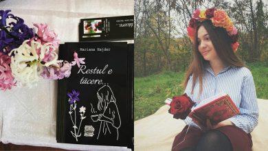 """Photo of interviu   Și-a pus sufletul pe hârtie, iar """"Restul e tăcere"""". Marina Hajder, scriitoarea din Cantemir care și-a lansat prima carte la doar 18 ani"""