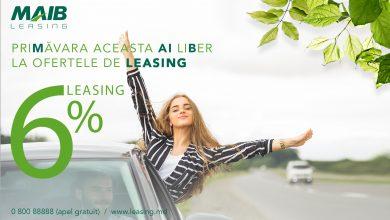 Photo of Finanțare la doar 6%. MAIB-Leasing a lansat oferta de primăvară