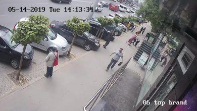 Photo of video | Poliția a stabilit identitatea bărbatului carear fi lovit cu pumnul în piept două femei din capitală