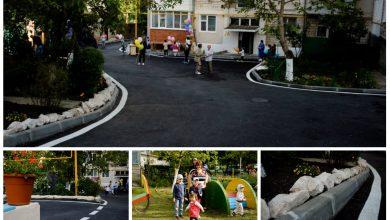 Photo of foto | Între timp, la Orhei: Cum arată curtea unui bloc de locuit, dată în exploatare de Ilan Șor?