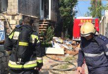 Photo of foto, video | O casă nefinisată din Durlești a fost cuprinsă de flăcări: Patru butelii de gaz, evacuate de urgență