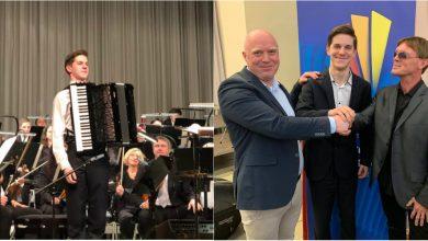 Photo of foto | Muzica lui a ajuns până în Germania. Radu Rațoi este câștigătorul unui prestigios concurs de acordeon