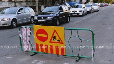 Photo of Circulația rutieră, sistată pe o stradă din centrul capitalei. Până când va fi suspendat traficul?