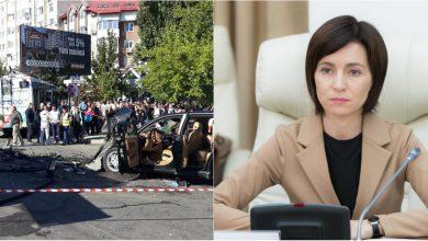 """Photo of Reacția Maiei Sandu după accidentul de la Buiucani: """"Am dispus astăzi convocarea unei ședințe de urgență"""""""