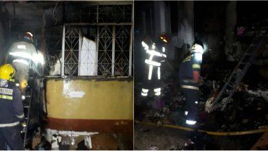 Photo of foto | Flăcări puternice într-un bloc locativ din Chișinău. Mai multe persoane au fost evacuate de salvatori