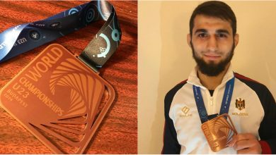 Photo of A cucerit medalia pentru al doilea an consecutiv. Moldoveanul Maxim Saculțan a obținut 3 victorii laMondialul Under 23