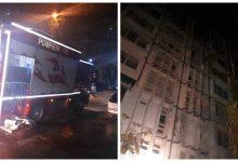 Photo of foto   Șapte copii au fost evacuați cu măști pe față dintr-un incendiu din sectorul Botanica! Flăcările au cuprins patru etaje ale unui bloc de locuit