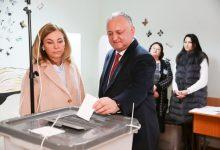 """Photo of video   Președintele țării, Igor Dodon, după ce a participat la vot: """"Chișinăuieni, nu călcați pe aceeași greblă"""""""