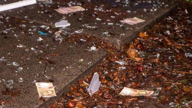 Photo of foto, video | Zeci de bancnote, împrăștiate pe o stradă din Kiev. Cum au ajuns banii pe drum?