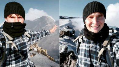 Photo of foto, video | Ziua mergea, iar noaptea dormea în case părăsite sau în păduri. Andrei Plugaru a ajuns pe jos și fără bani pe vulcanul Etna