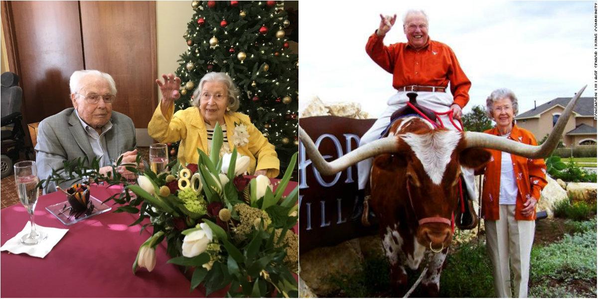 Photo of foto | Ea are 105 ani, iar el – 106 și nu se mai despart de opt decenii. Cel mai longeviv cuplu din lume serbează aniversarea căsniciei