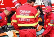 Photo of video | O femeie de 53 de ani a fost preluată de urgență cu elicopterul SMURD și transportată la Iași
